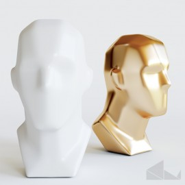 human head sculpt